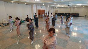 9/15 体験教室 新舞踊・歌謡舞踊
