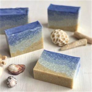 肌に優しい手作り石けん教室「雪塩と米ぬかの石けん」💓